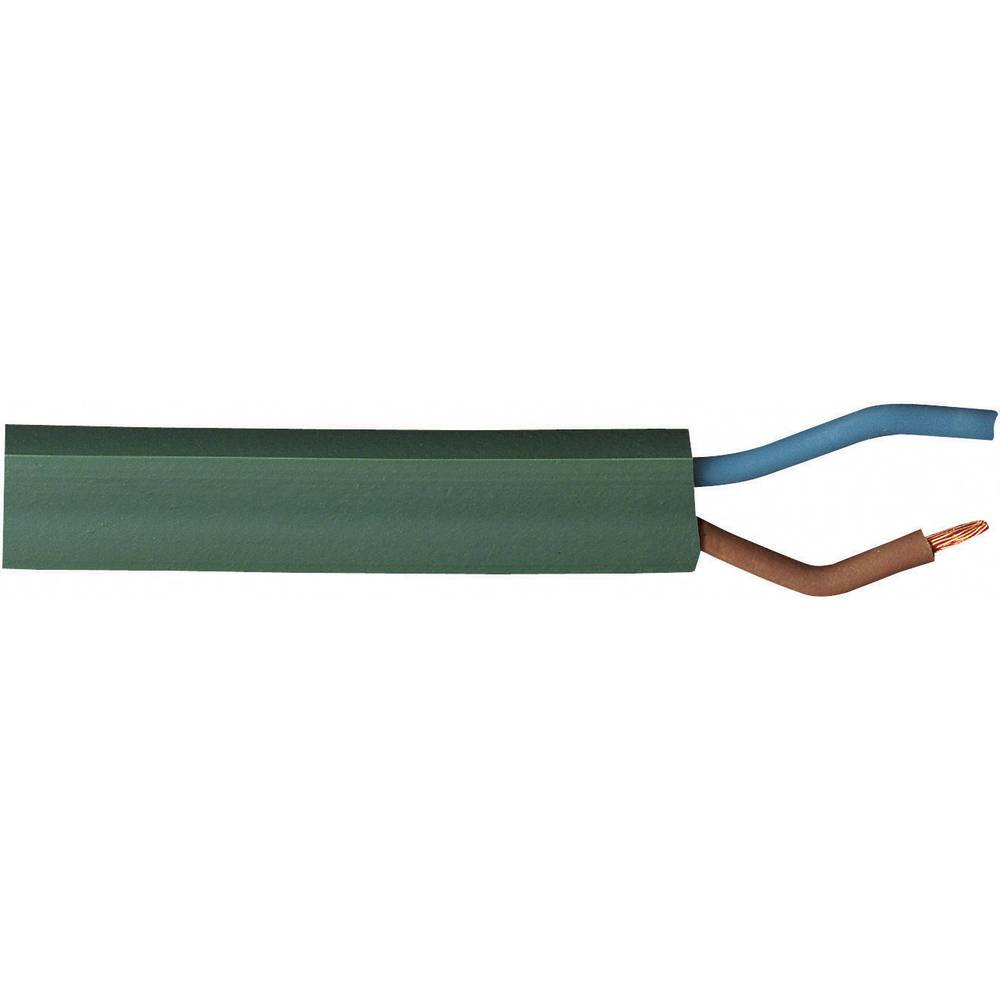 Kabel za svetlobno verigo H05RNH2 2 x 1.50 mm zelene barve BKL Electronic 071002/10 10 m