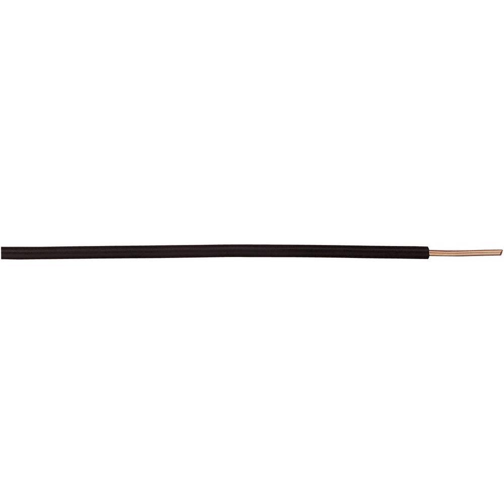 Finožični vodnik H05V-K 1 x 0.75 mm črne barve XBK Kabel 20015101sw 100 m