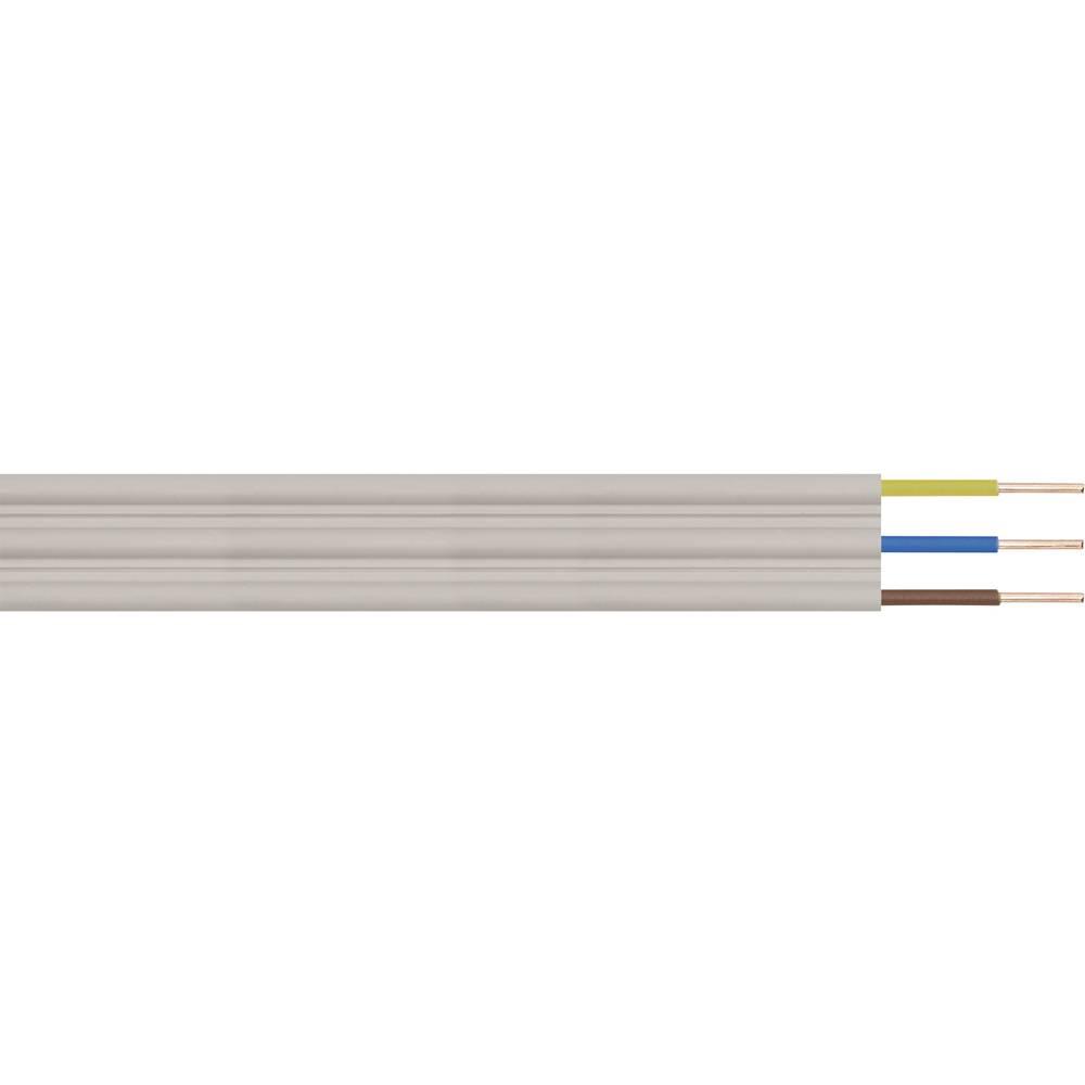 Ploščati inštalacijski kabel LappKabel NYIF-J, 3 x 1,5 mm2,siv, metrsko blago 49900187