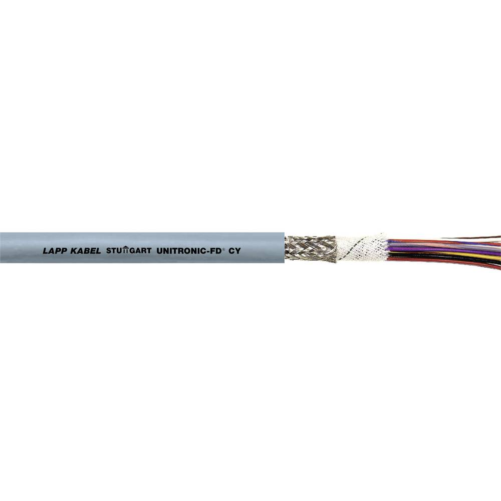 Datakabel LappKabel UNITRONIC® FD CY 2 x 0.34 mm² 0027440 Grå Metervare