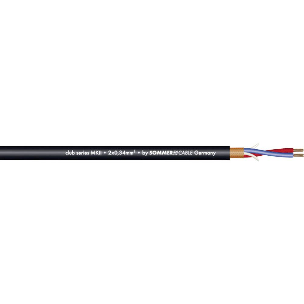 Sommer Cable-''CLUB SERIES MKII''-Mikrofonski kabel, 2x0.34mmË>, crn, metarska roba 200-0051