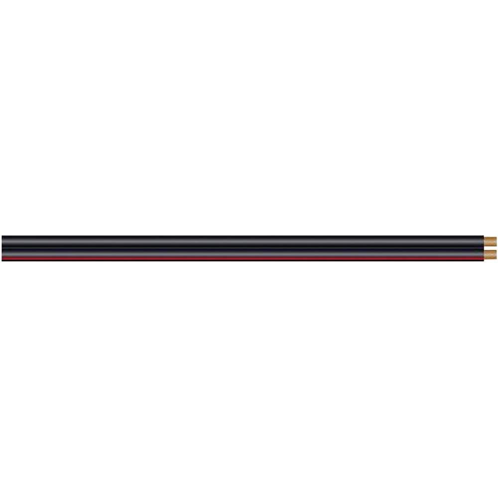 Dvožilni inštalacijski kabel Sommer Cable SC-NYFAZ, 2 x 2,5mm2, črno-rdeč, metrsko blago 420-0250-SW