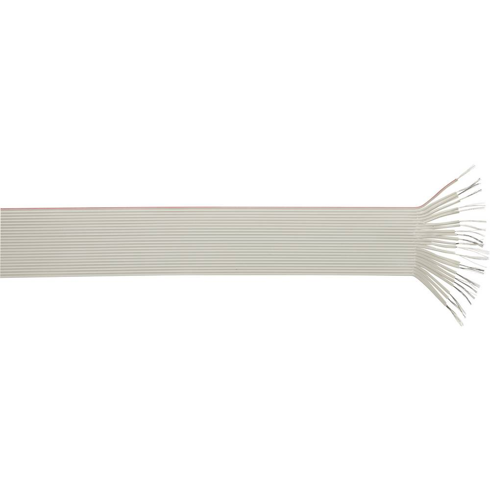 Ploščati kabel dimenzije: 1.27 mm 25 x 0.09 mm sive barve LappKabel 49900048 meterski