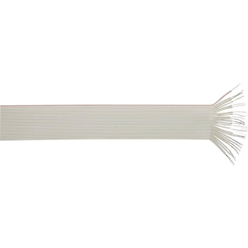 Plosnati kabel, mjere rastera: 1.27 mm 50 x 0.09 mm sive boje LappKabel 49900052 roba na metre