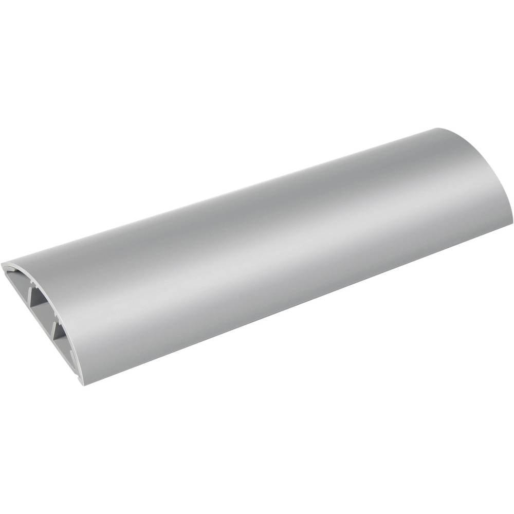 Talna zaščita za kable 1 m, za kable premera: 8 mm (D x Š x V) 100 x 5 x 1,2 cm, siv, Brenne.. 1160550 Brennenstuhl