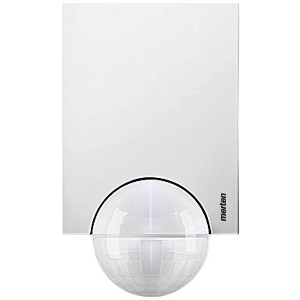 Merten 565119 detektor gibanja Argus 110° polarna bele barve, kot zajemanja 110 ° stikalni kontakt: rele IP55