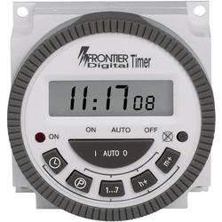 Tjedni uklopni sat, digitalni, CE TM-619 230 V/AC 16 A/250 V