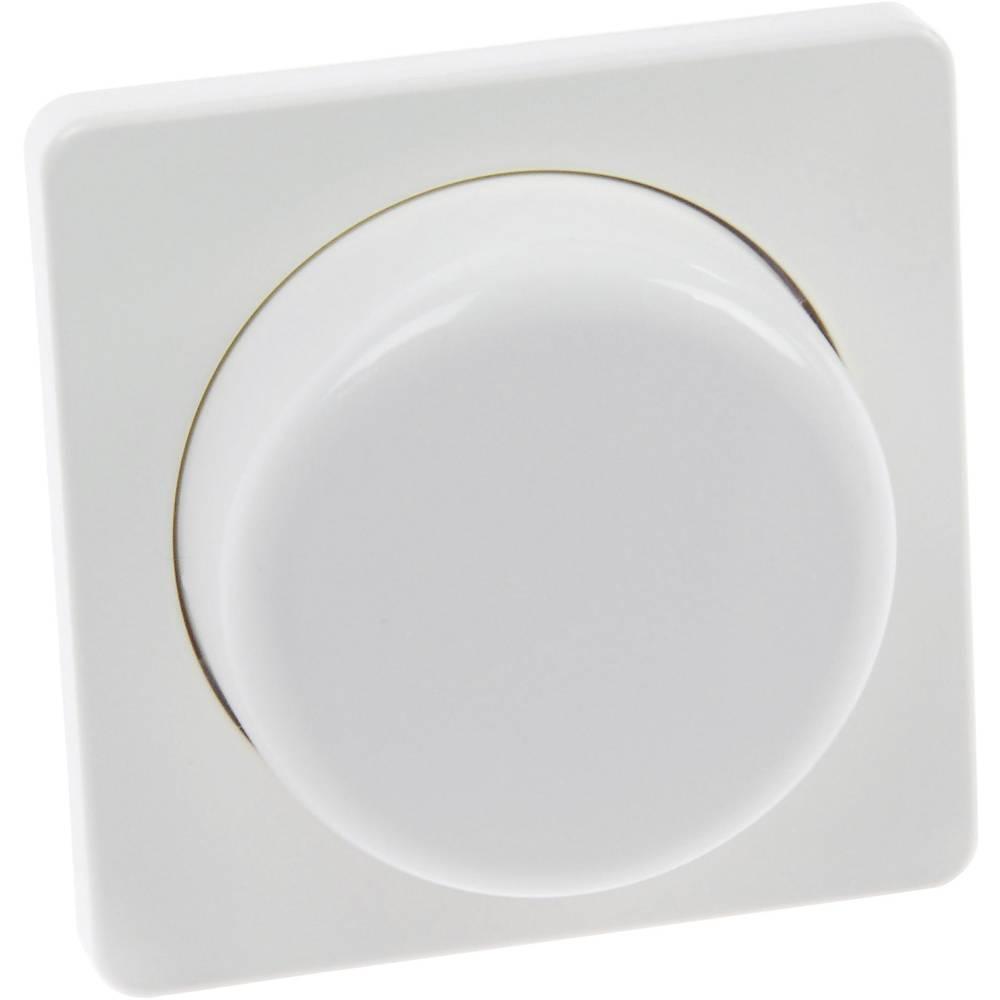 Osrednja plošča za zatemnilnik z vrtljivim gumbom, bele barve Ehmann 9081x0100