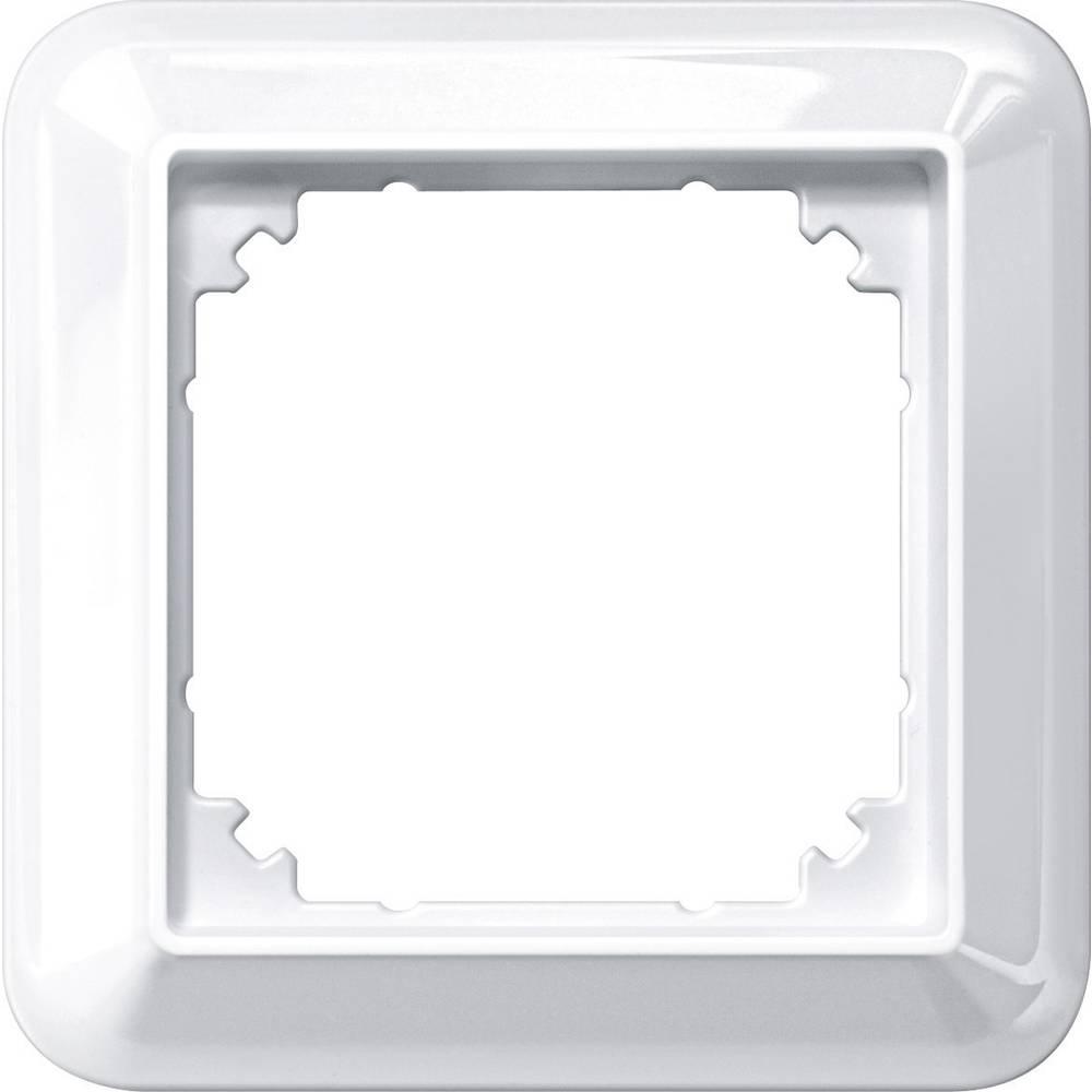 Merten enojni krovni okvir, Atelier-M polarno bele svetleče barve 388119