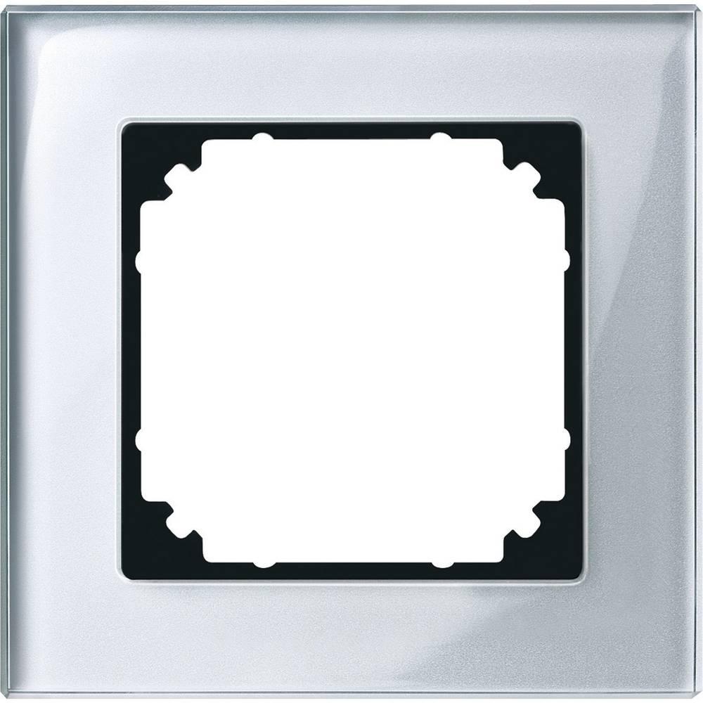 Merten 1 kratni okvir m-plan, sistem m srebrna 489160