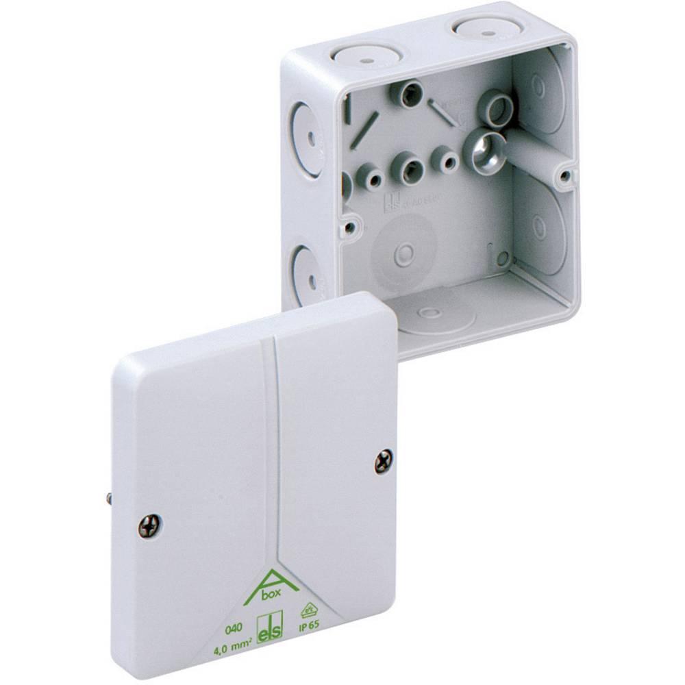 Odcepnik/razdelilna doza za vlažne prostore Spelsberg Abox 040 - L, sive barve, IP65 80490701