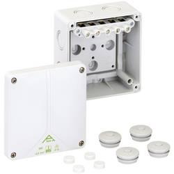 Forbindelsesdåse (L x B x H) 110 x 110 x 67 mm Spelsberg Abox-i 060-6² Grå IP65