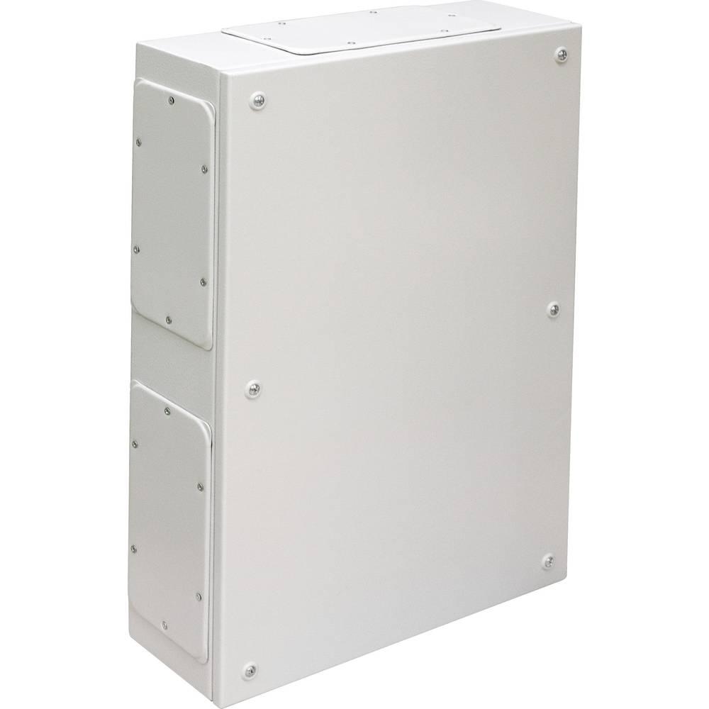 IDE 26001-Zidno kućište razvodne kutije, bez otvora za prirubnicu, čelični lim, sivo 200x150x95mm