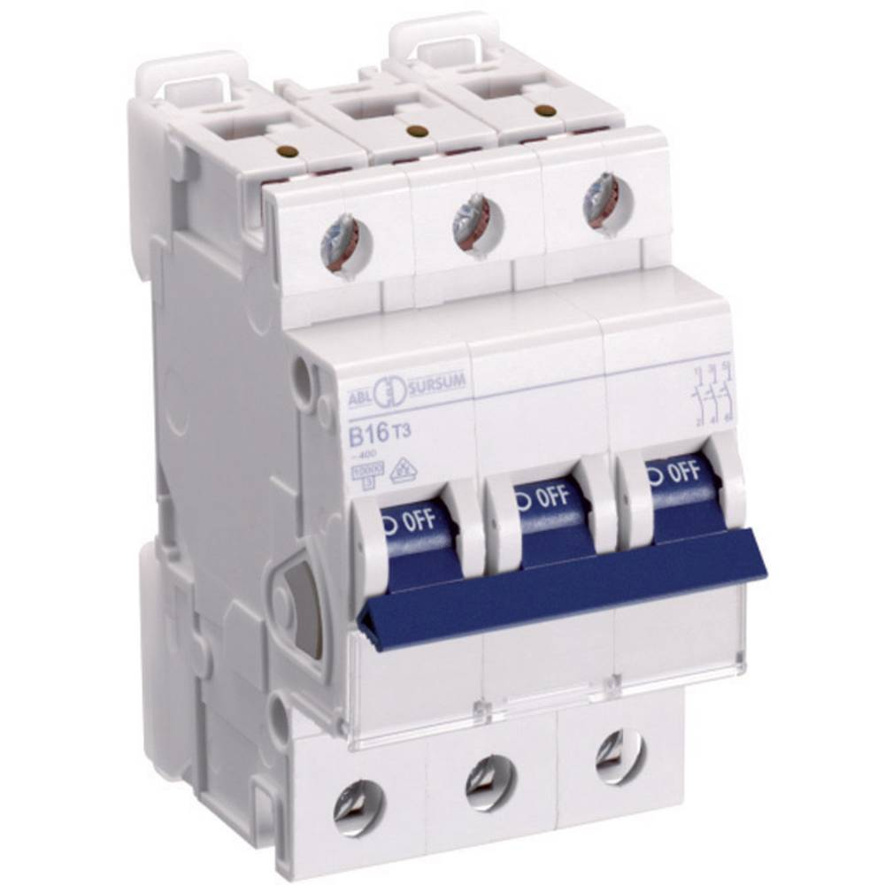 Inštalacijski odklopnik 3-polni 16 A ABL Sursum K16T3