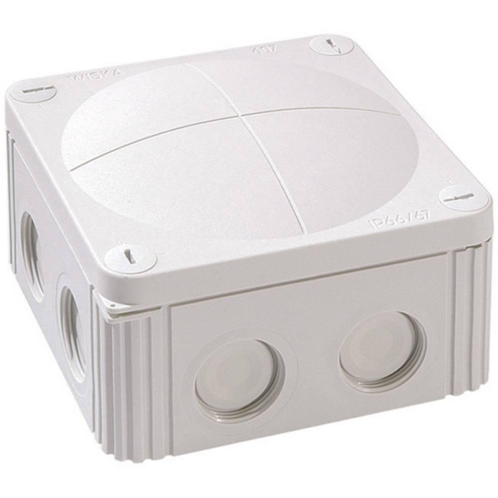 Razvodna kutija za kabele za vlažne prostorije Wiska Combi 607, siva, IP66/IP67 10060531