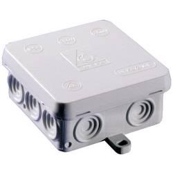 Forgreningskasse (L x B x H) 80 x 80 x 40 mm Wiska KA 12/leer/weiss Hvid IP54