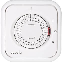Podžbukni vremenski uklopni sat, analogni, dnevni program Suevia 348.002 2200 W IP20