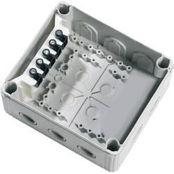 Forgreningskasse (L x B x H) 160 x 140 x 81 mm Wiska Grå (RAL 7035) IP66/IP67