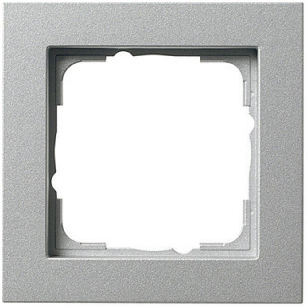 GIRA 1-struki okvir E2, standard 55, sistem 55 aluminij 021125