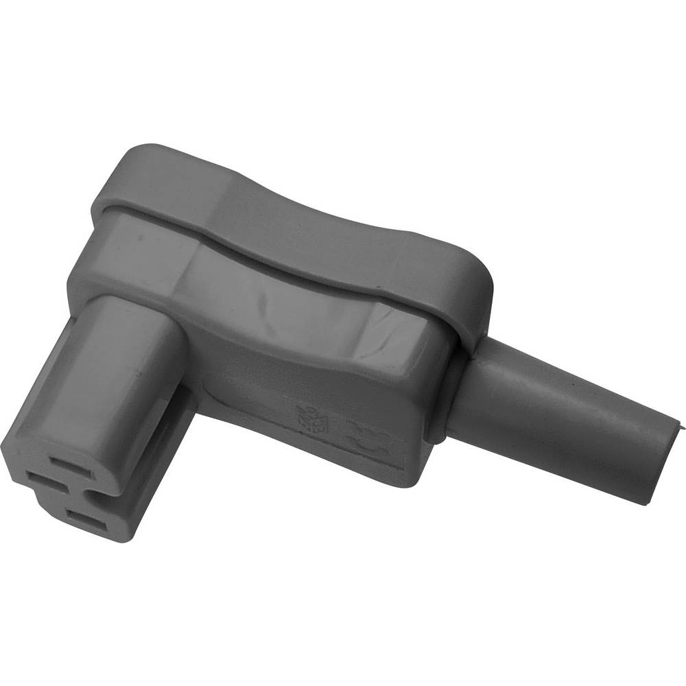 Varmapparat-stik (C15A/C16A) C15A Tilslutning, vinklet Samlet poltal: 2 + PE 10 A Grå Kaiser 1 stk
