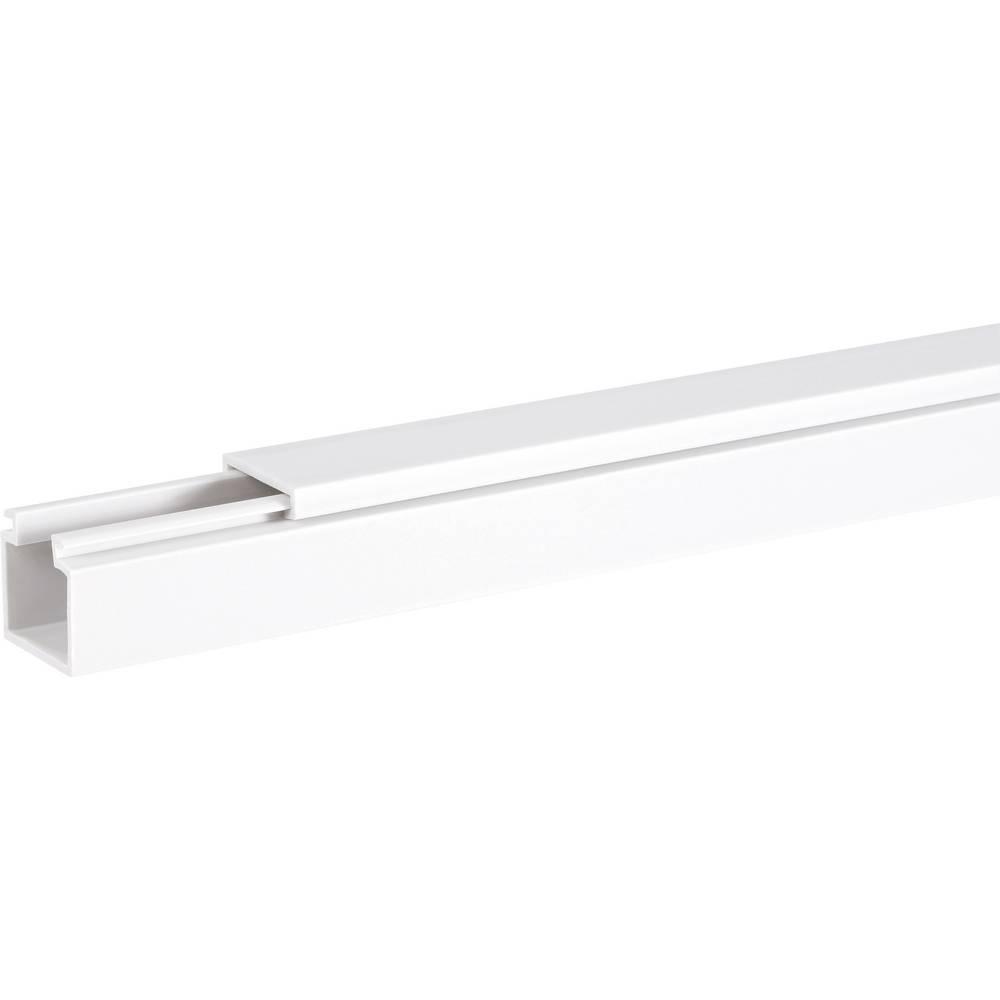 Kabelska kanalica Hager LF4006009010, 40 x 60 mm, 2 m, bijele boje