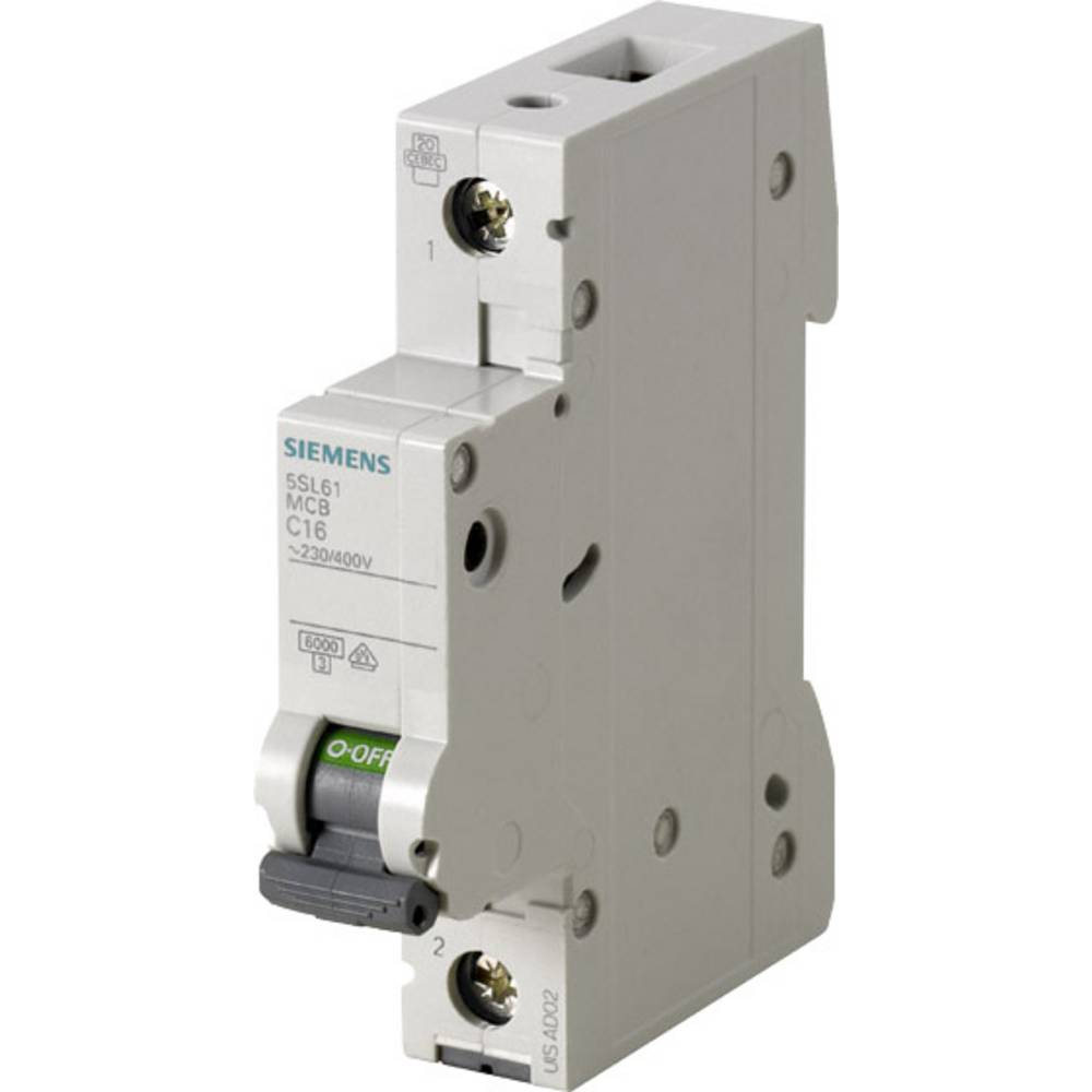 Inštalacijski odklopnik 1-polni 13 A Siemens 5SL6113-7