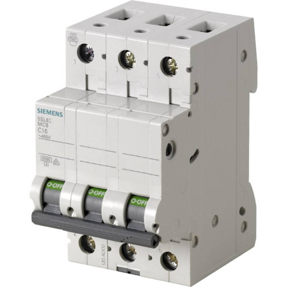 Instalacijski prekidač 3-polni 16 A Siemens 5SL6316-7
