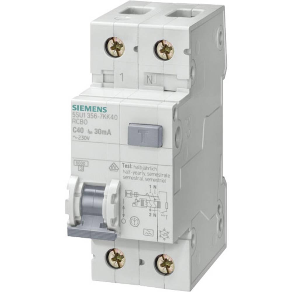 FI-sikkerhedsafbryder 1-polet 10 A 0.03 A 230 V Siemens 5SU1356-6KK10