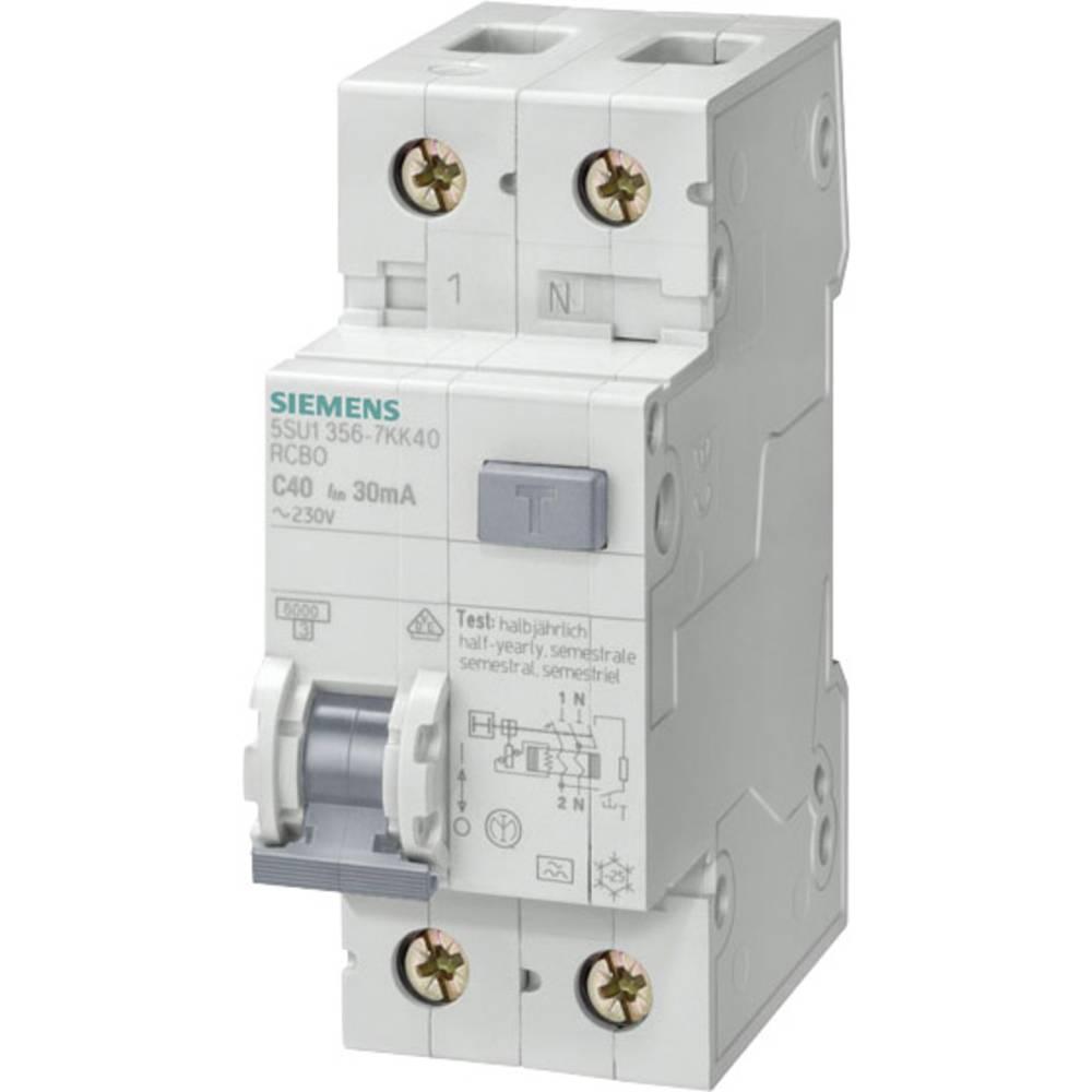 FI-sikkerhedsafbryder 1-polet 13 A 0.3 A 230 V Siemens 5SU1656-6KK13