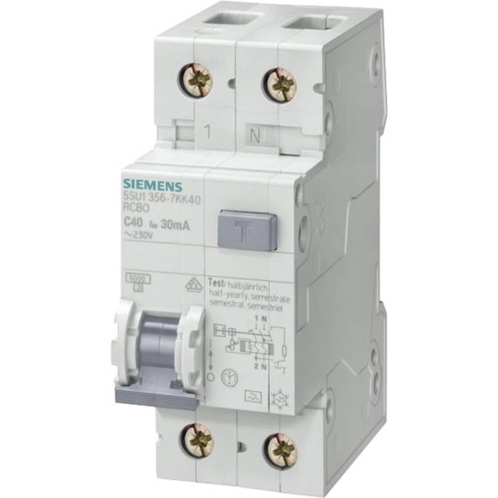 FI-sikkerhedsafbryder 1-polet 32 A 0.3 A 230 V Siemens 5SU1656-6KK32