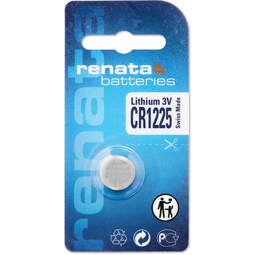 Gumbna baterija CR 1225 litijeva Renata CR1225 48 mAh 3 V, 1 kos