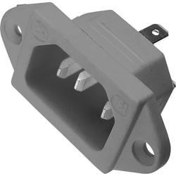IEC-kontakt 781 Series (Nätanslutning) 781 Kontakt hane inbyggd vertikal Antal poler: 2 + PE 10 A Grå Kaiser 781/gr 1 st
