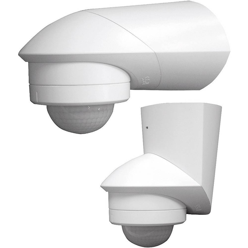 Grothe 94530 detektor gibanja 120° bele barve, kot zajemanja 120 ° stikalni kontakt: rele IP55