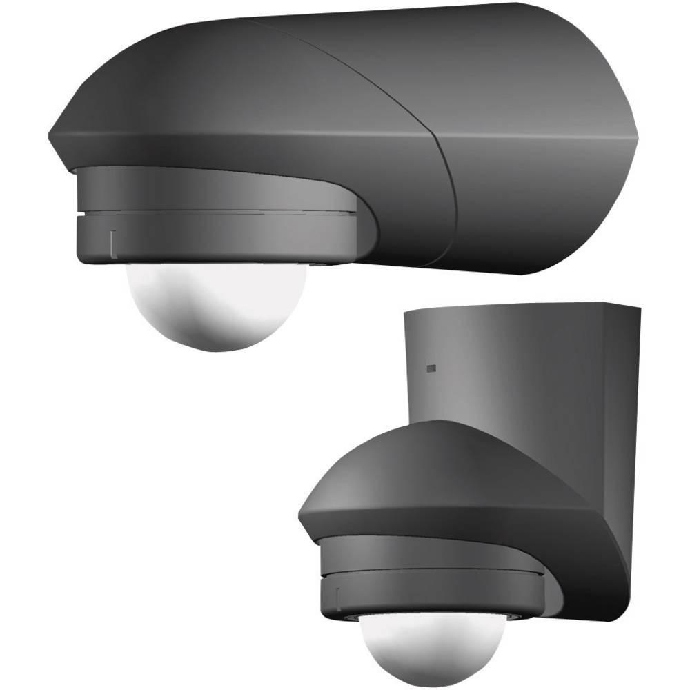 Grothe 94533 detektor gibanja 120° črni, kot zajemanja 120 ° stikalni kontakt: rele IP55