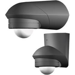 Utanpåliggande PIR-rörelsedetektor Grothe 94535 360 ° IP55 Svart