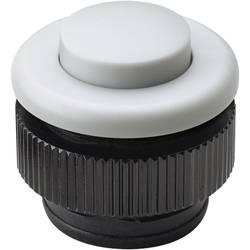 Tipkalo za zvonec Grothe Protact 61032, umetna masa, bele barve, maks. 24 V/1,5 A