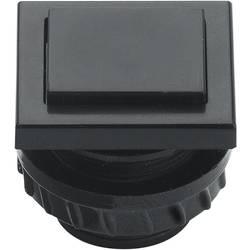 Tipkalo za zvonec Grothe Protact 61045, umetna masa, črne barve, maks. 24 V/1,5 A