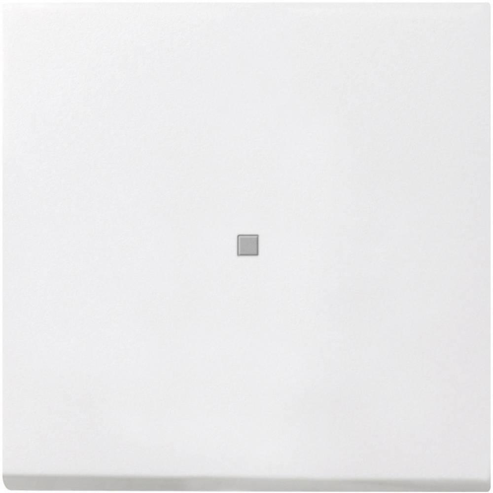 GIRA poklopac kontrolnog prekidača, plosnati prekidač bijeli 0290112