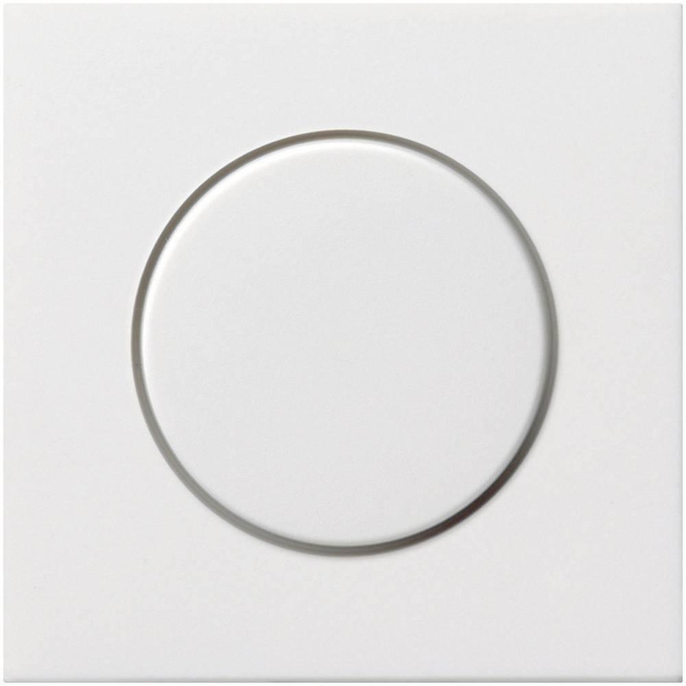 GIRA poklopac za vrtljivi prigušivač svjetla za plosnati prekidač, čista bijela 0650112
