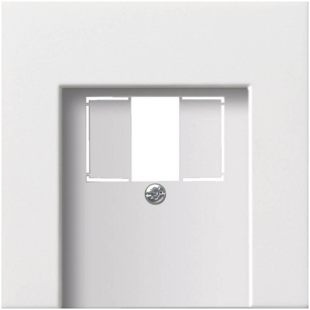 GIRA poklopac za telefonski/USB-priključak za plosnati prekidač Gira 0276112, bijela boja