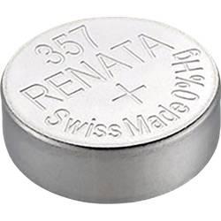 Gumbasta baterija 357 srebro-oksidna Renata SR44 pogodna za jaku struju 160 mAh 1.55 V 1 kom.