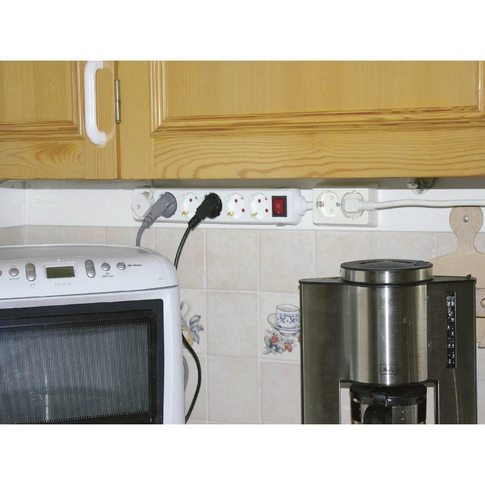 Držač za razdjelne letve 606551, srebrni, oprema za ugradnju