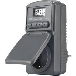 Vremenski uklopni sat za utičnicu, digitalni, tjedni program 23 h/59 min. CE DWZ 20 3680 W IP44 funkcija odbrojavanja