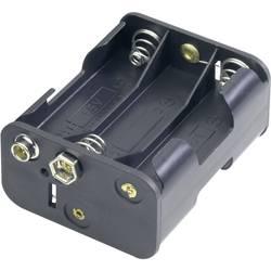 Držalo za baterije D za 6 Mignon baterij (D x Š x V) 58 x 28 x 47 mm