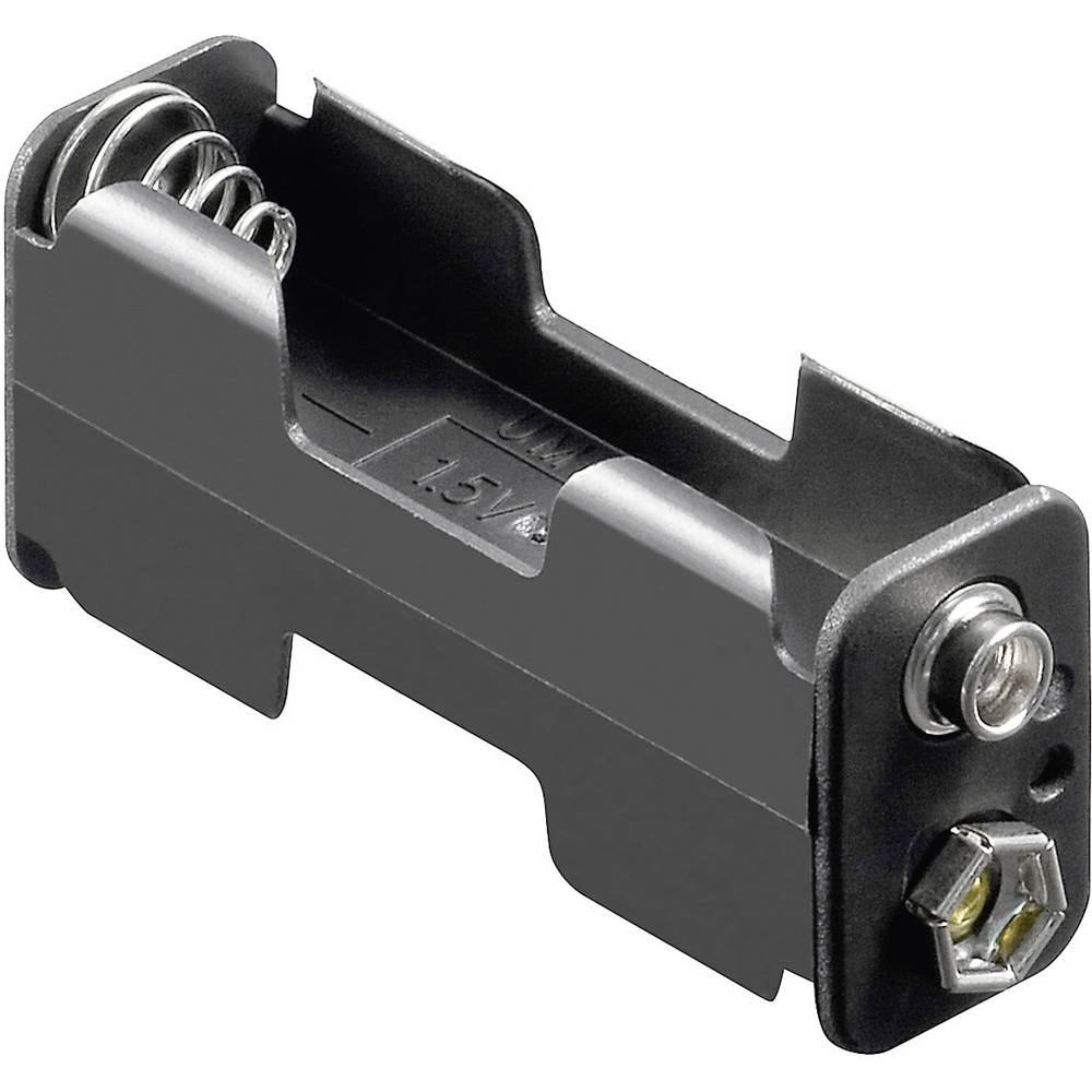 Stalak za baterije D za 2 Mignon (D x Š x V) 60 x 26 x 16.5 mm