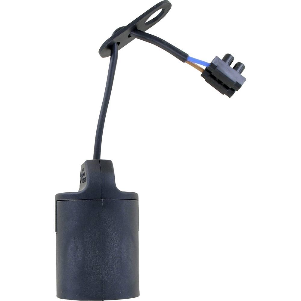 Okovje za žarnice, podnožje za žarnico E27 030C19B črno Conrad