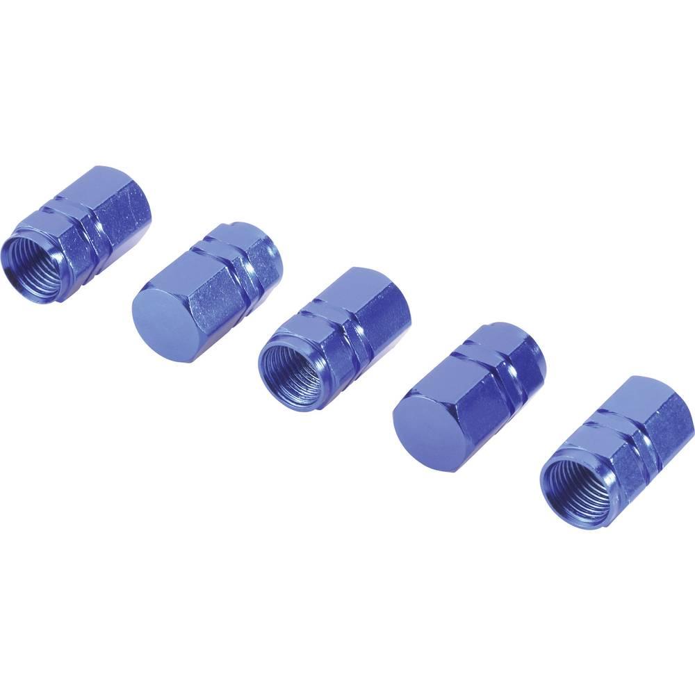 Ventilkappe (value.1321410) Sæt med 5 stk. Blå