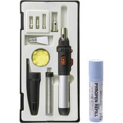 Komplet za plinski spajkalnik TOOLCRAFT PT-509 1300 °C 50 min vklj. s plinsko stekleničko