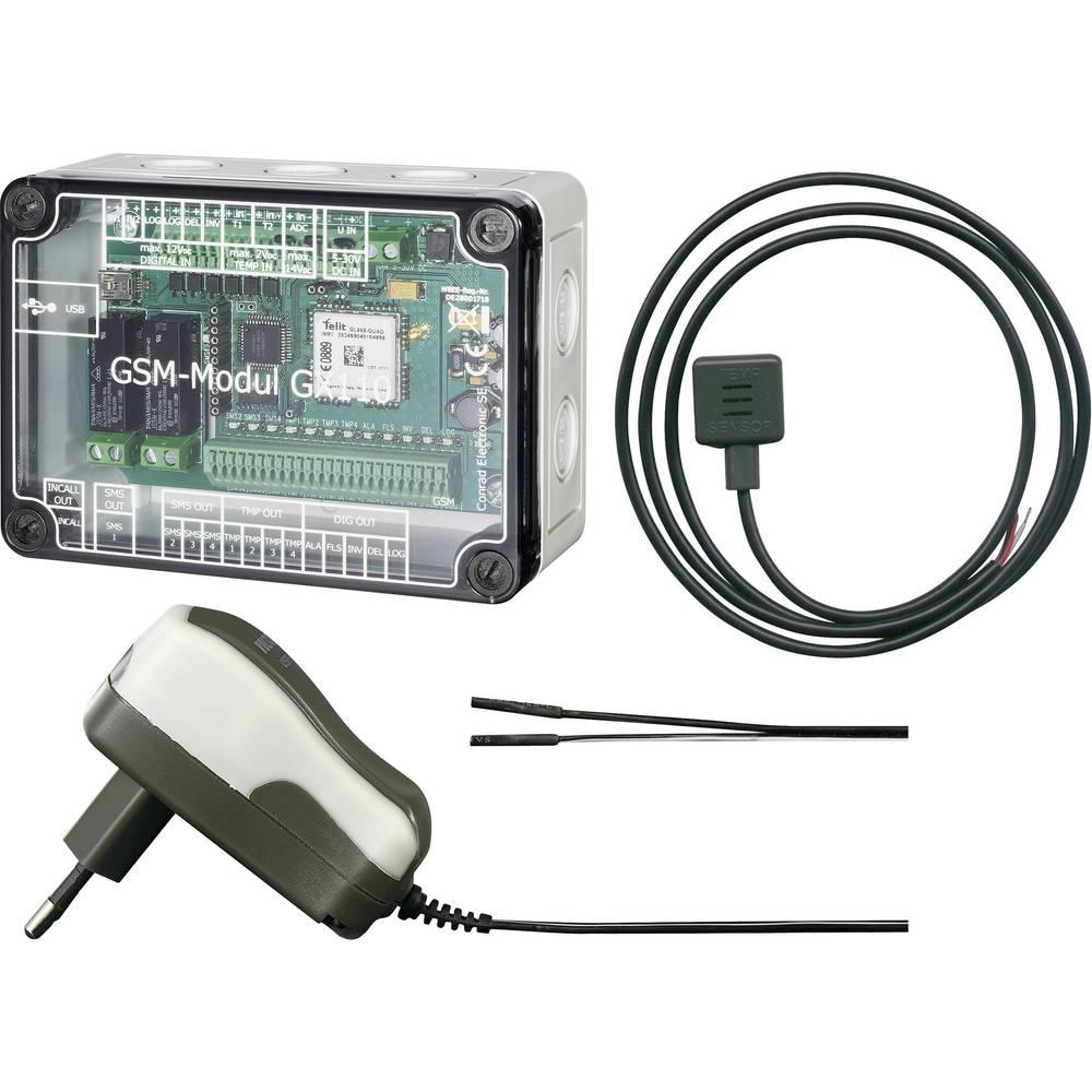 GX 110 GSM-modul 5 V/DC, 32 V/DC Vklj. temperaturni senzor, Vklj. napajanje