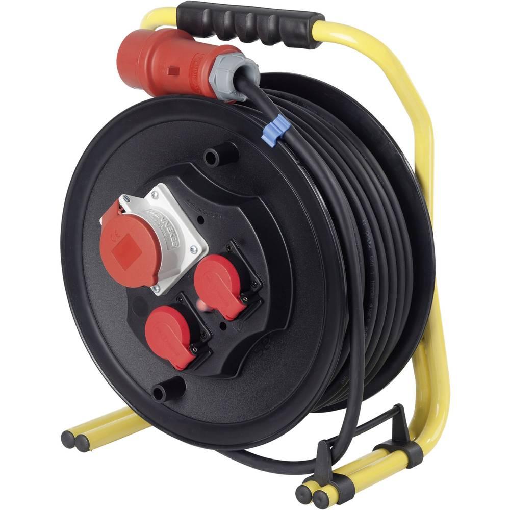 Kabelski boben 30 m črn CEE-vtič AS Schwabe 20653